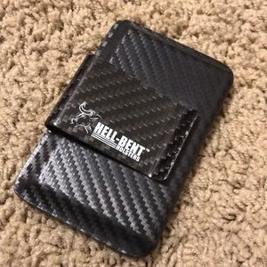 Hell Bent Holsters kydex wallet with Money clip